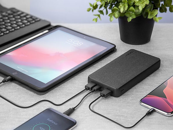 Naztech Fabric Power Bank 20,000mAh 18W PD + QC3.0 Is Up For A Massive Discount For A Few Hours - Bestgamingpro