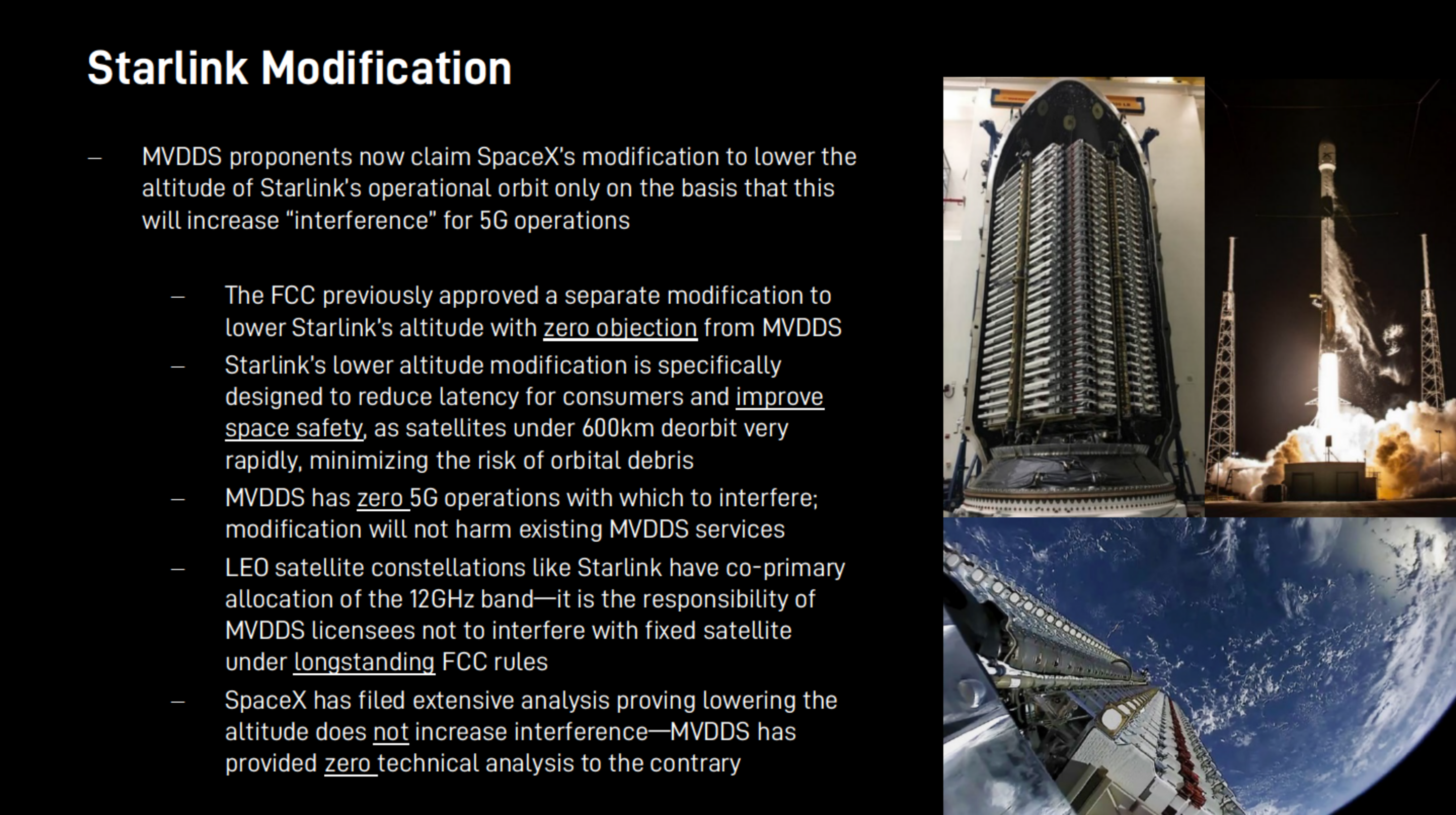 SpaceX FCC 5G MVDDS