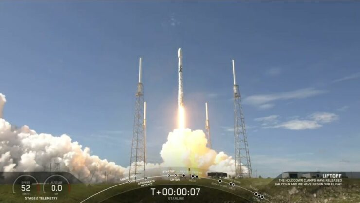 SpaceX Starlink launch today grows satellite constellation