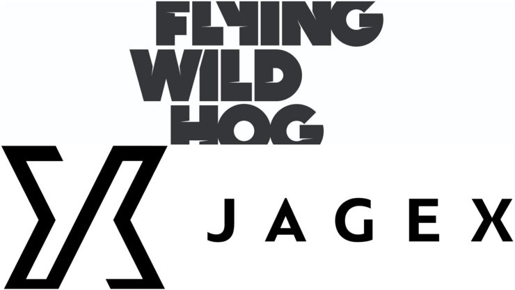 Flying Wild Hog