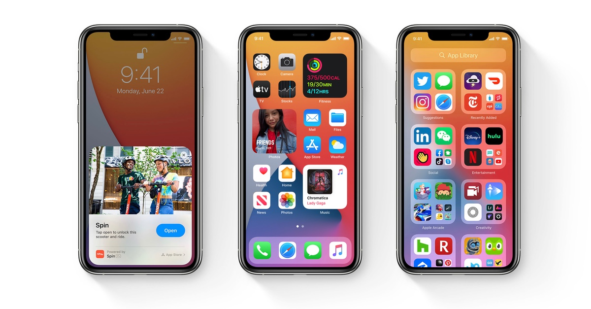 iOS 14, tvOS 14 Public Beta 5