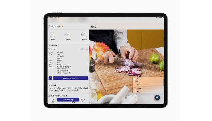 iPadOS 14 Siri