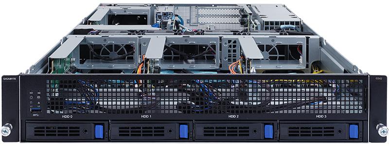 Gigabyte Announces The G242-Z11 HPC Server