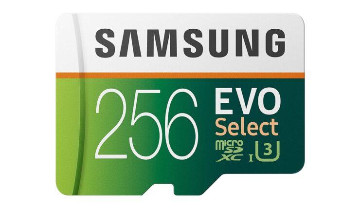 Save $20 on 256GB microSD card by Samsung