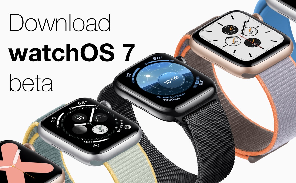 watchOS 7 public beta download