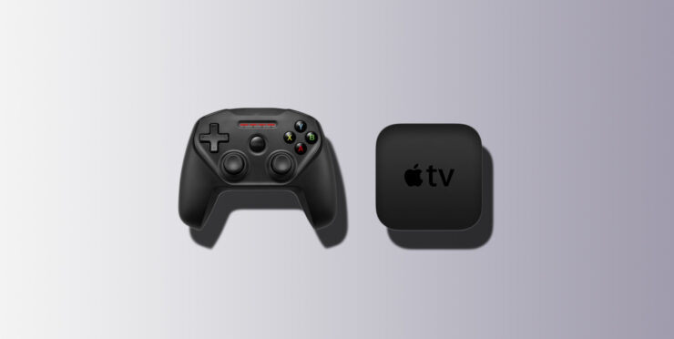 Apple TV Game Controller Size Reportedly Sports the Deal Size, and Is Rumored to Ship in a White, Smooth Finish