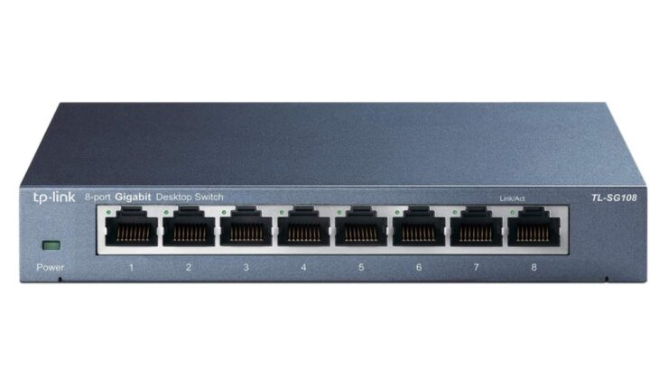 TP-Link Gigabit Ethernet switch available for $17.99 today
