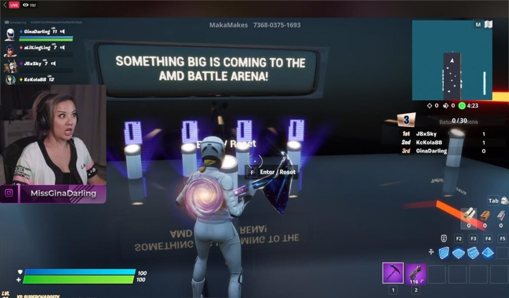 Amd Radeon Rx 6000 Big Navi Graphics Cards Teased In Fortnite