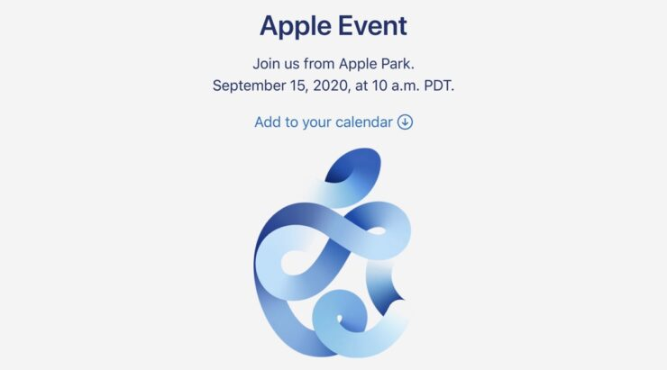 iPhone 12 Apple event announced for September 15, 2020