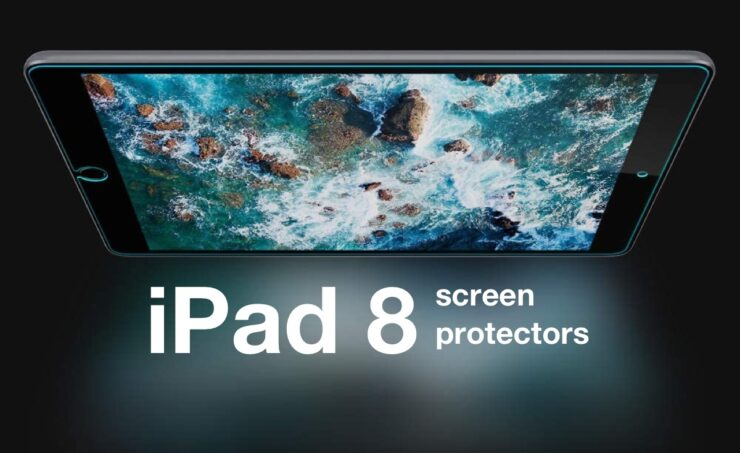 Apple iPad 8 10.2-inch screen protectors