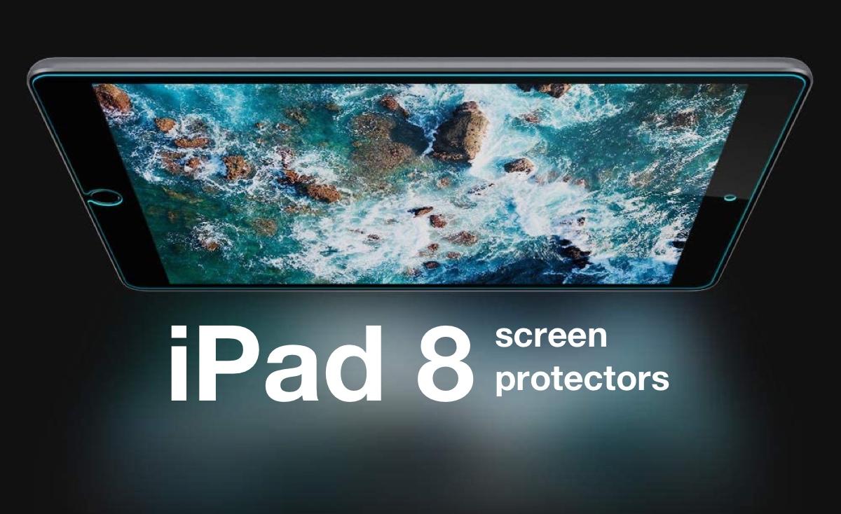 Apple iPad 8 10.2-inch screen protectors