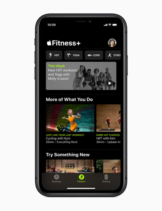 Apple Fitness Plus App