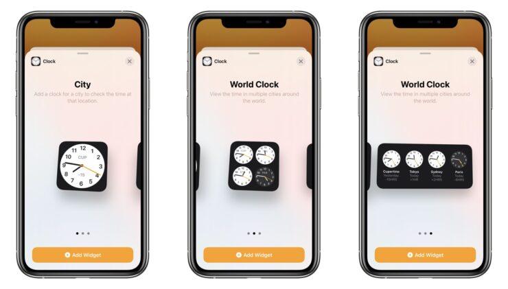 Create customized widget stack iOS 14 3