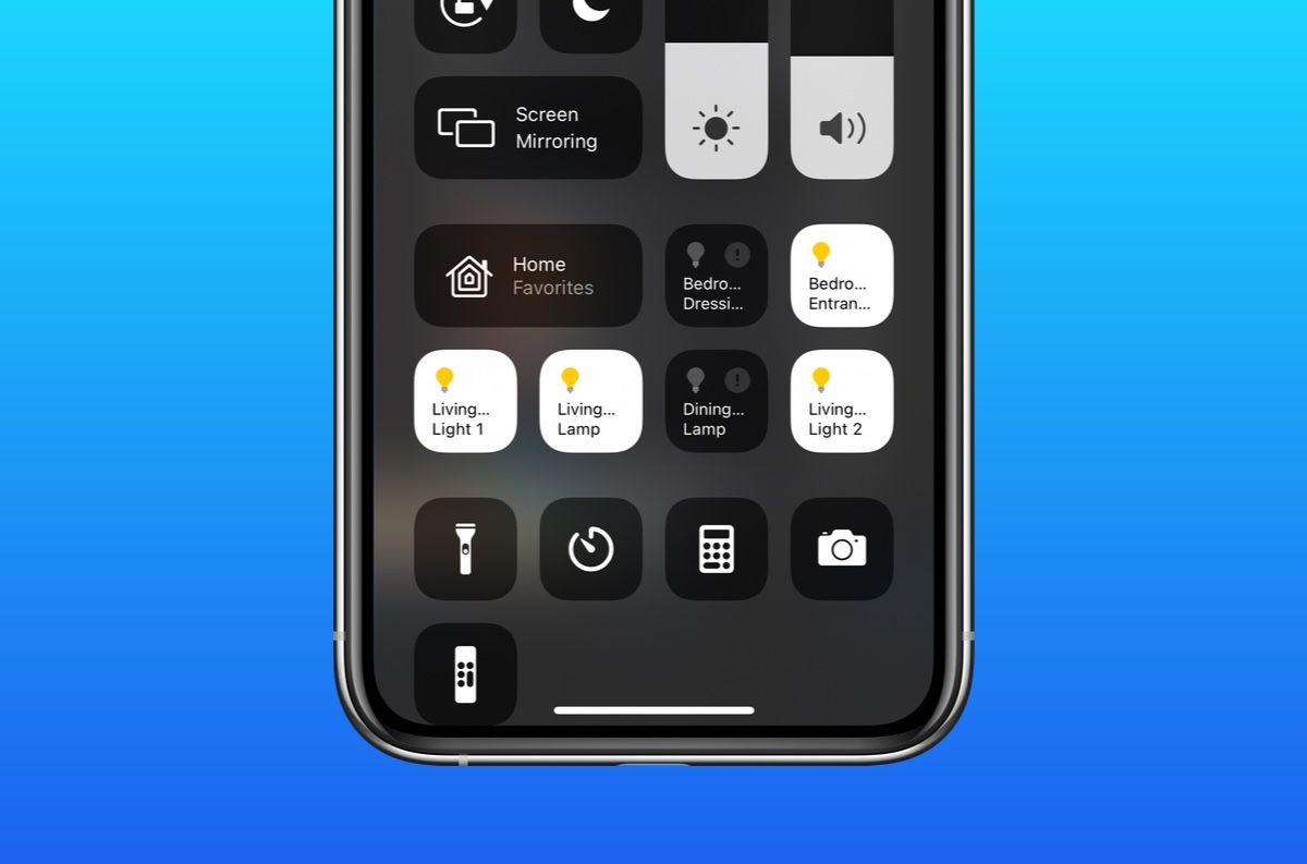Learn to disable Home Controls from Control Center in iOS 14, iPadOS 14
