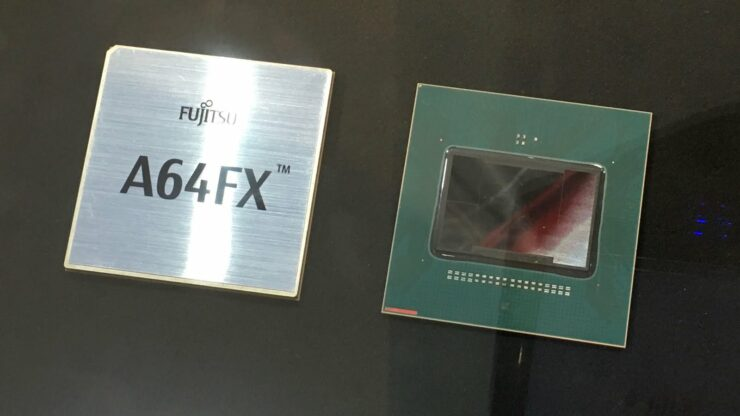 NVIDIA Arm acquisition Fujitsu A64FX ARM CPU