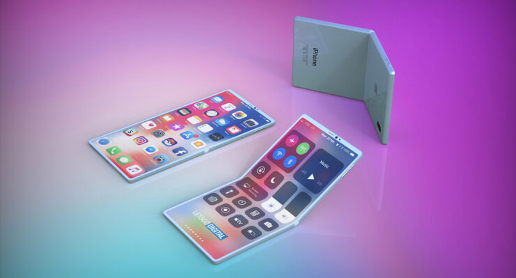 Foldable iPhones Samsung Displays
