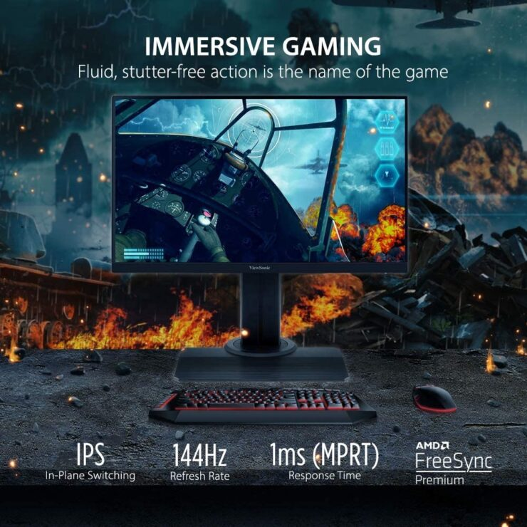 ViewSonic gaming monitor currently going for just $179