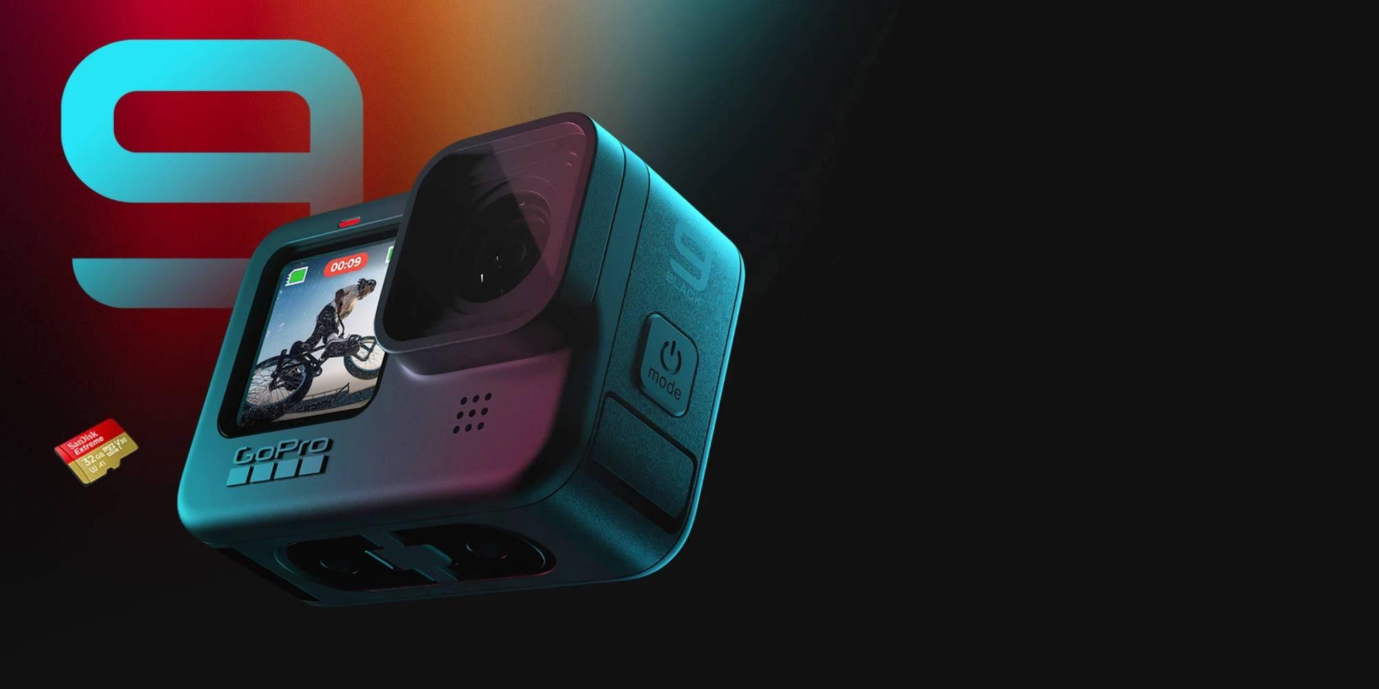 GoPro Hero 9 Black 5K Video 20MP Action Camera price in ...  |Gopro Hero 9