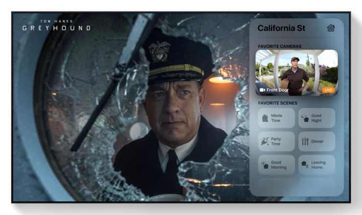 View your HomeKit camera live feed on Apple TV running tvOS 14