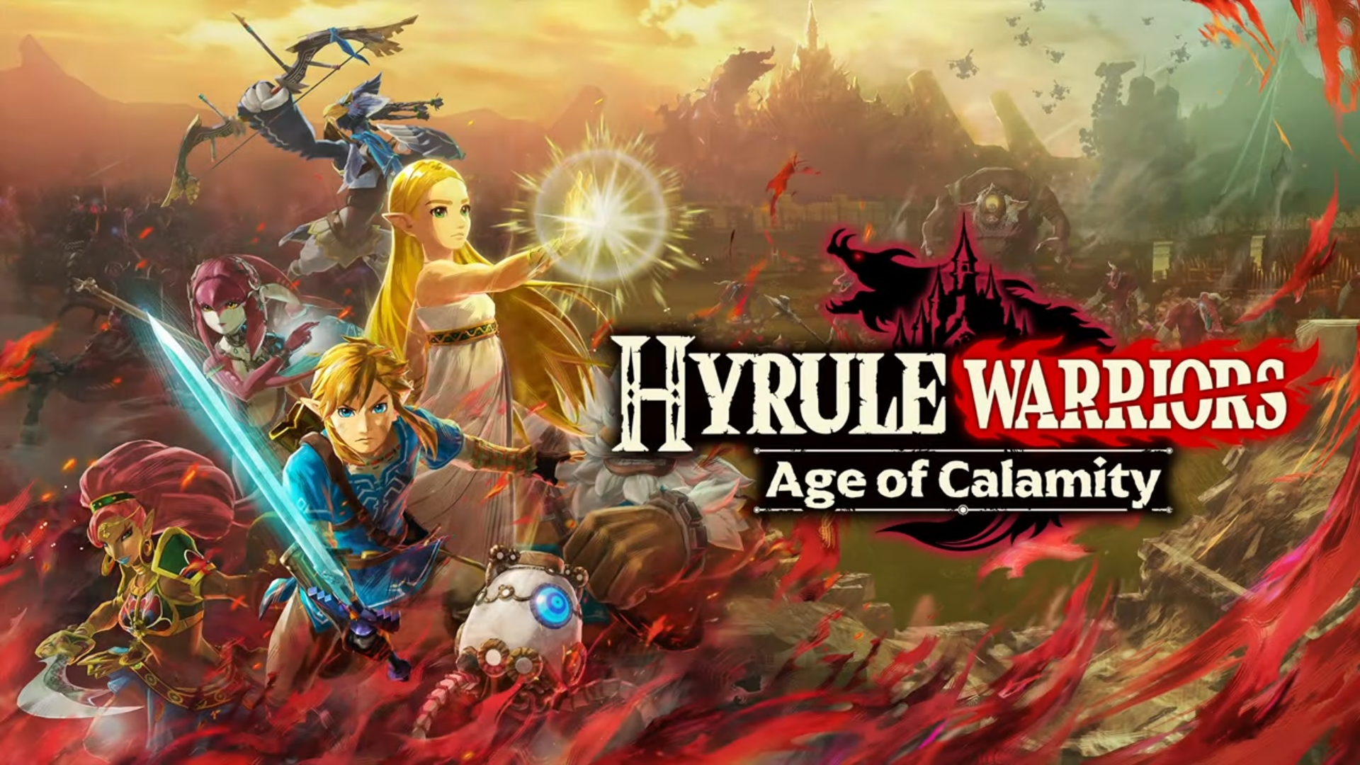 Nintendo Announce Hyrule Warriors Age Of Calamity Set 100 Years Before Breath Of The Wild