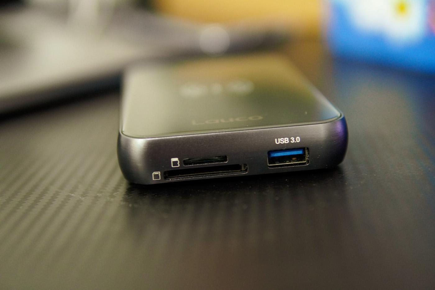 Lauco USB-C 10 in 1 Wireless Charging Hub 4