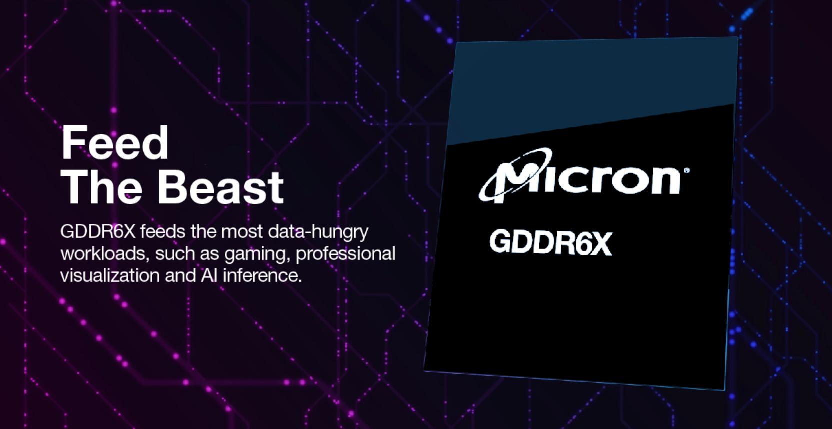 Micron Mengungkapkan GDDR6X Memory Untuk NVIDIA GeForce RTX 30 Series