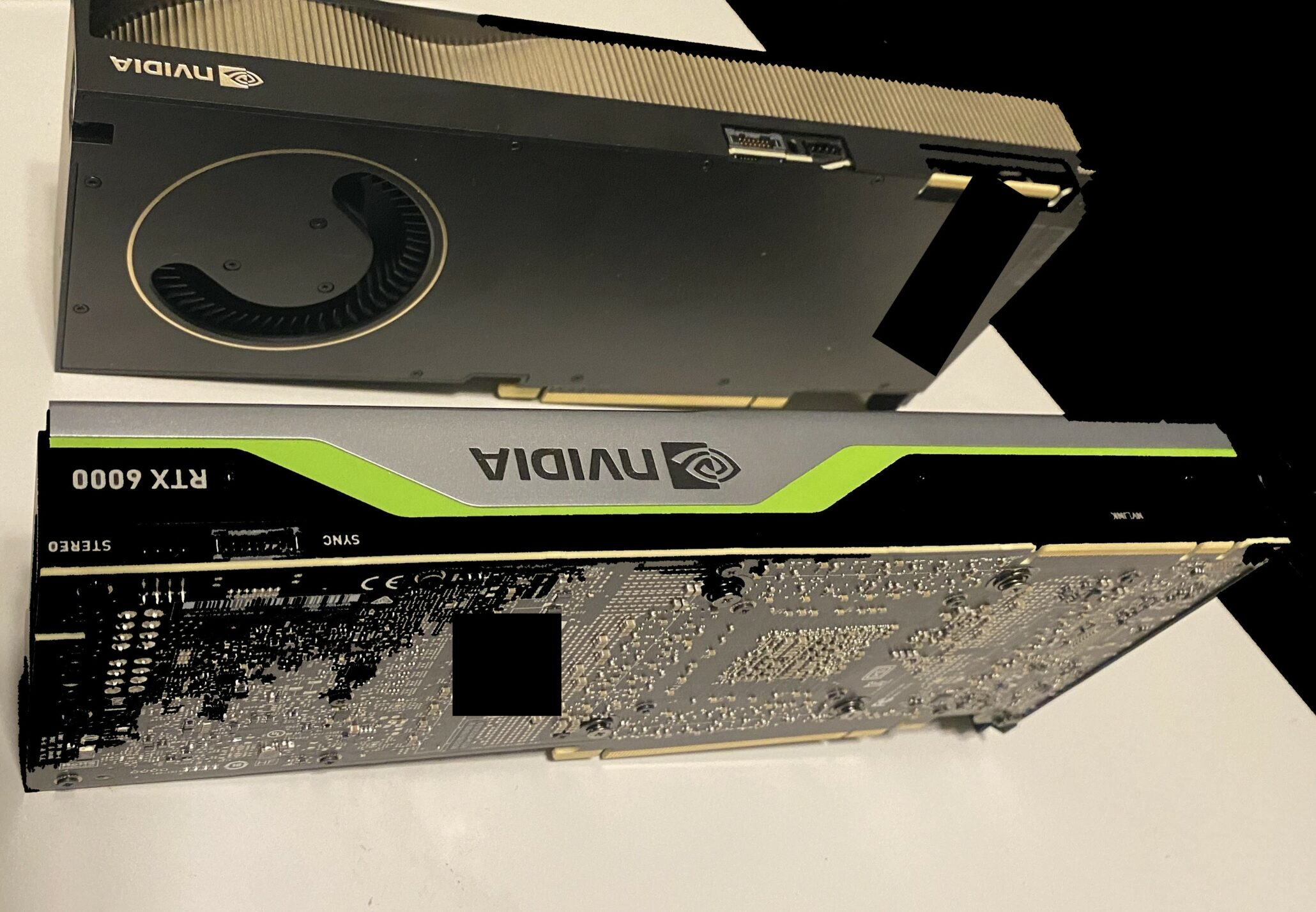 NVIDIA's Next-Gen Quadro RTX (Ampere) Graphics Card Gambar dan Detail