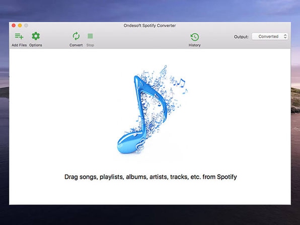 Ondesoft Spotify Music Converter