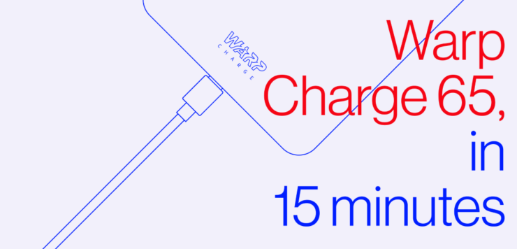 OnePlus 8T's Warp Charge 65 Detailed in a Tease and a Picture