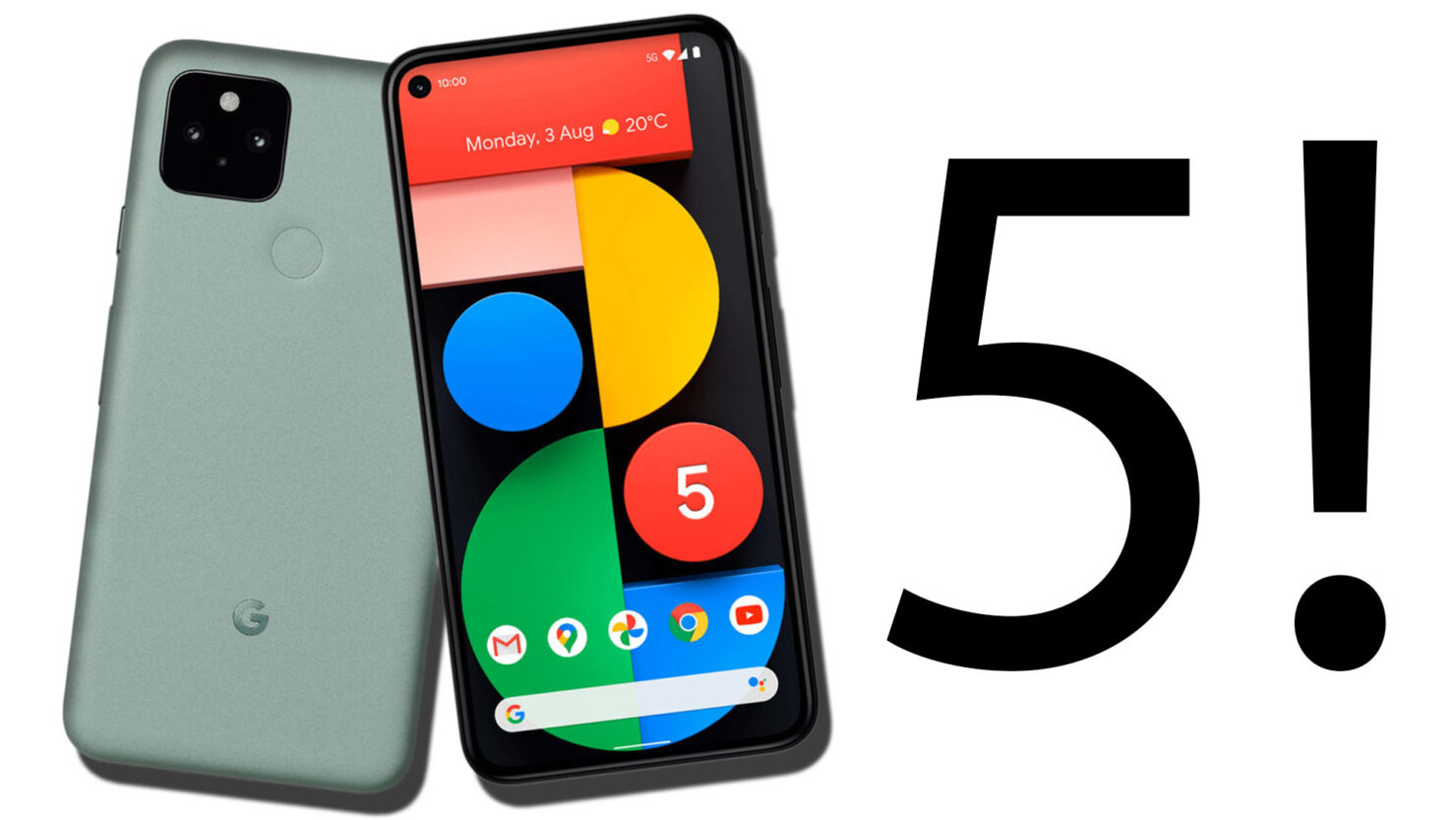 Pixel 5; Five Ways in Which Google Could Have Improved Its Latest Flagship