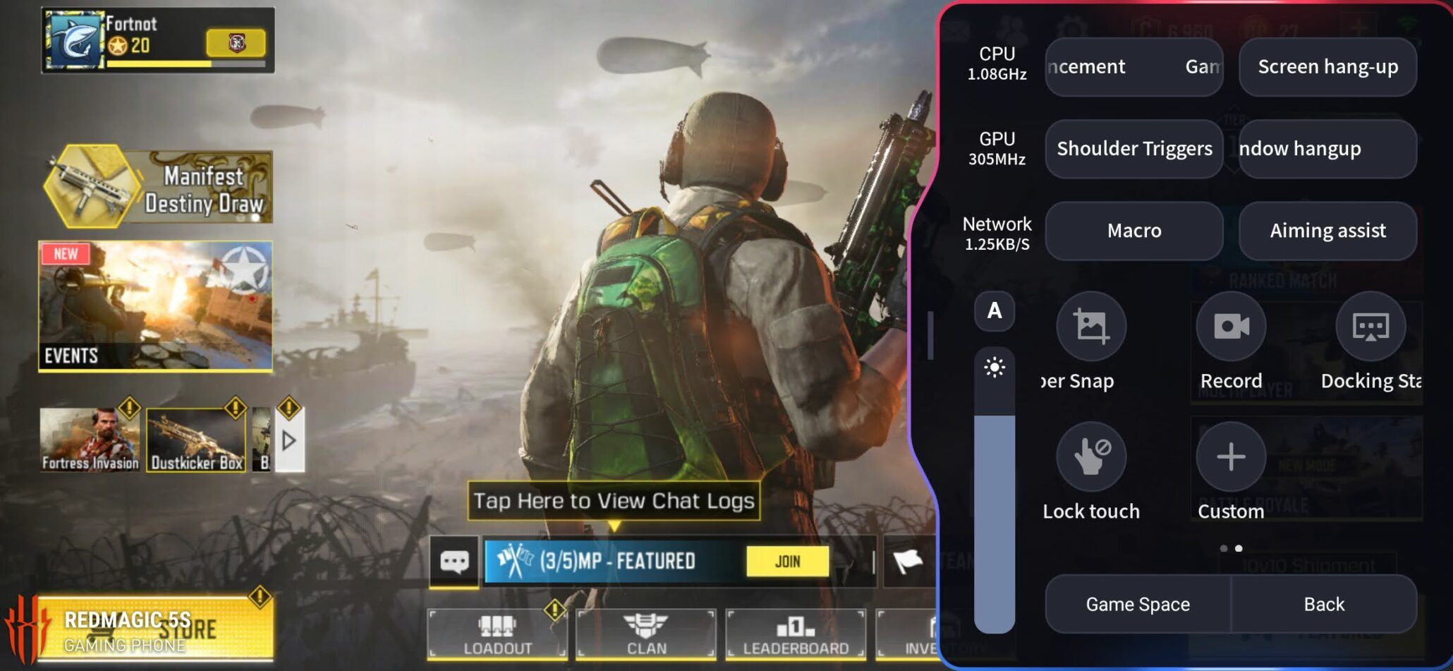 Red Magic 5S Call of Duty Mobile 1