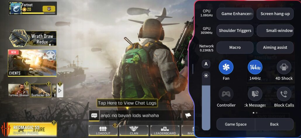 Red Magic 5S Call of Duty Mobile 2