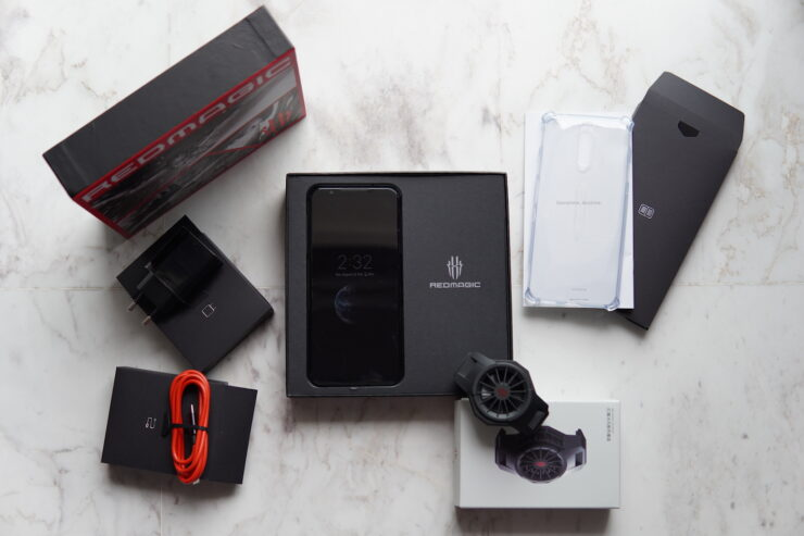Red Magic 5S Contents