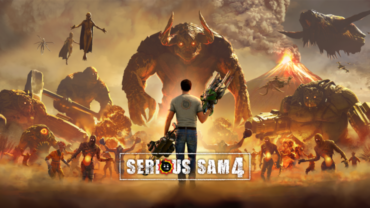 SeriousSam4 KeyArt 16x9 740x416 - Serious Sam 4 (PC) Review