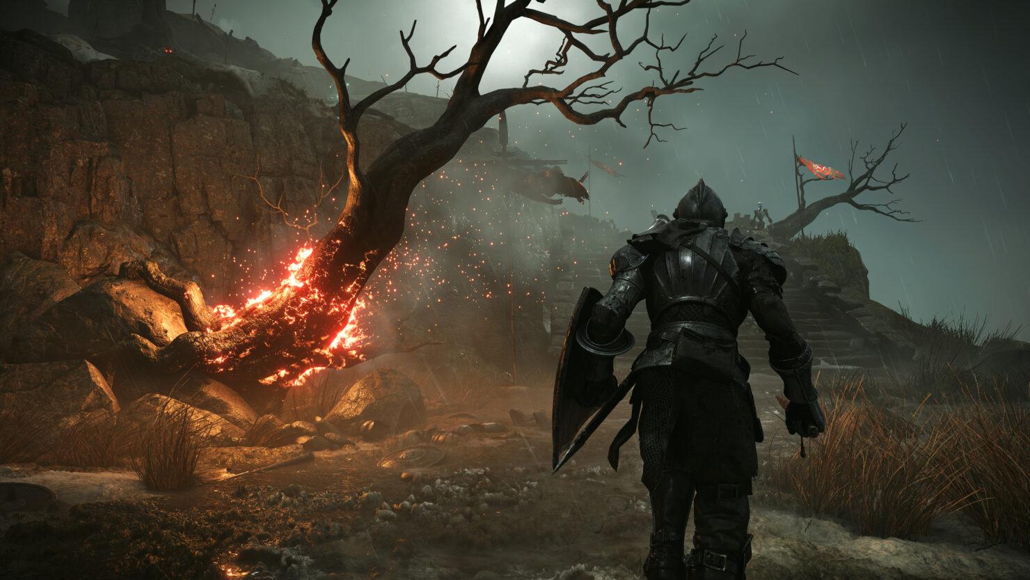 PS5 Demon's Souls menu theme music miles morales