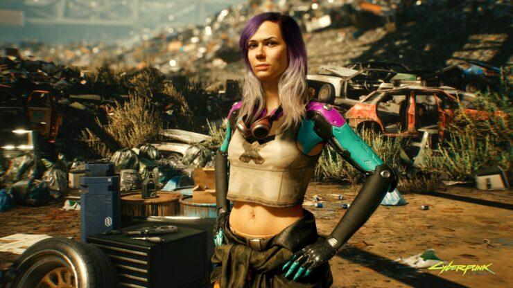 Cyberpunk 2077 vertex mod