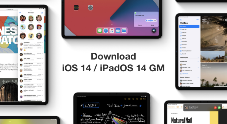 Download iOS 14 GM and iPadOS 14 GM right now