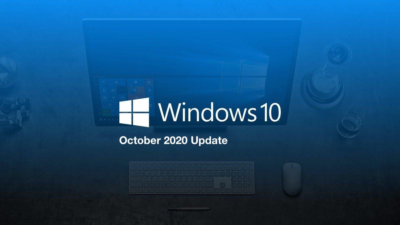 windows 10 20h2 windows 10 version 2009 Windows 10 October 2020 Update windows 10 version 20H2