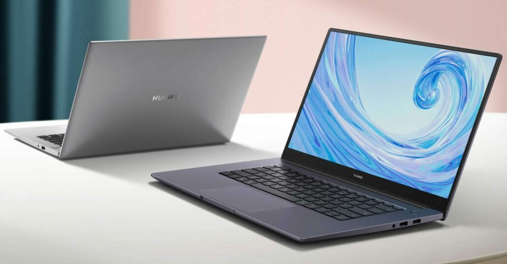 Huawei notebook with AMD chip