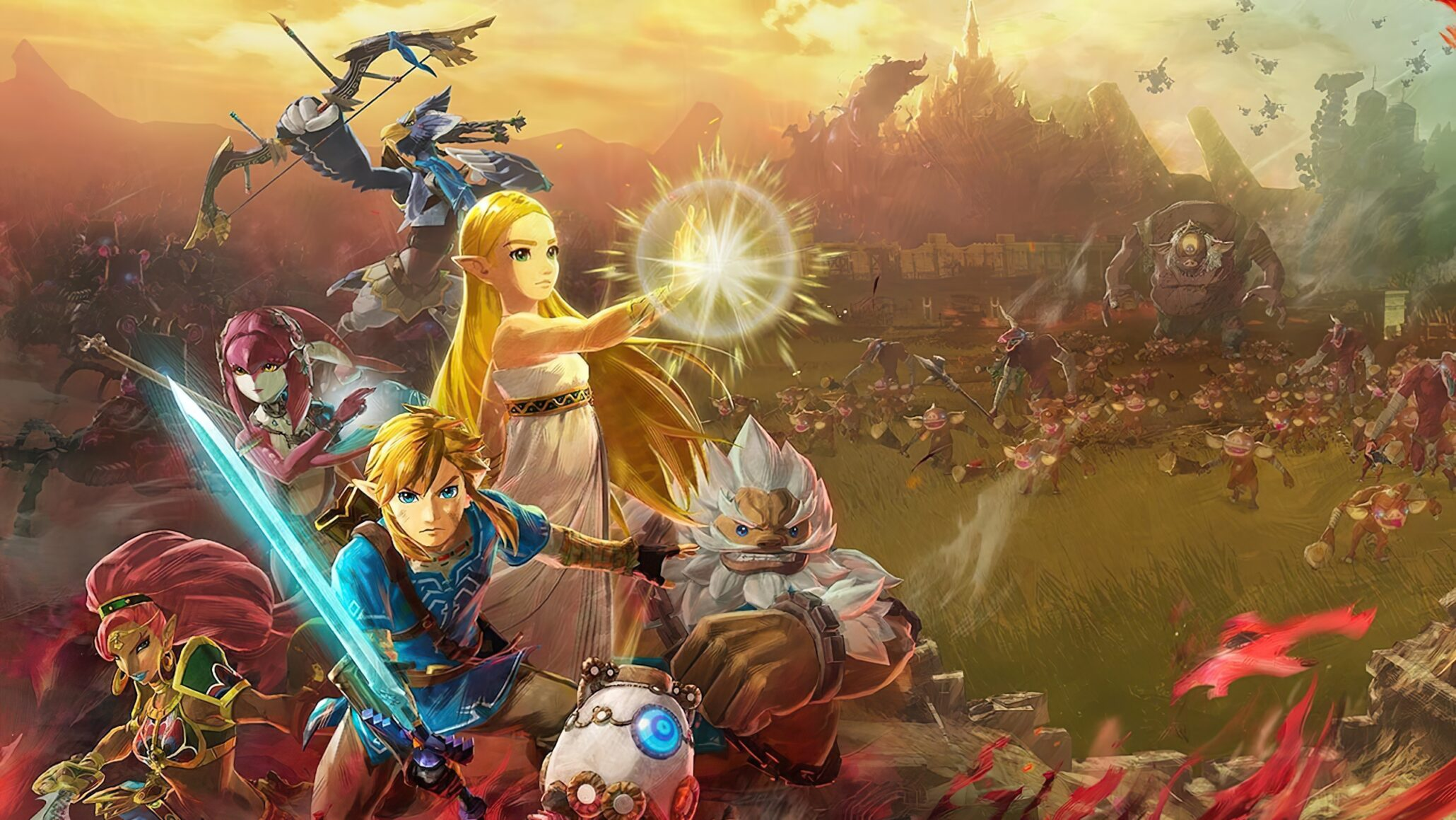 Hyrule Warriors Age Of Calamity Showcased In New Trailer And Gameplay