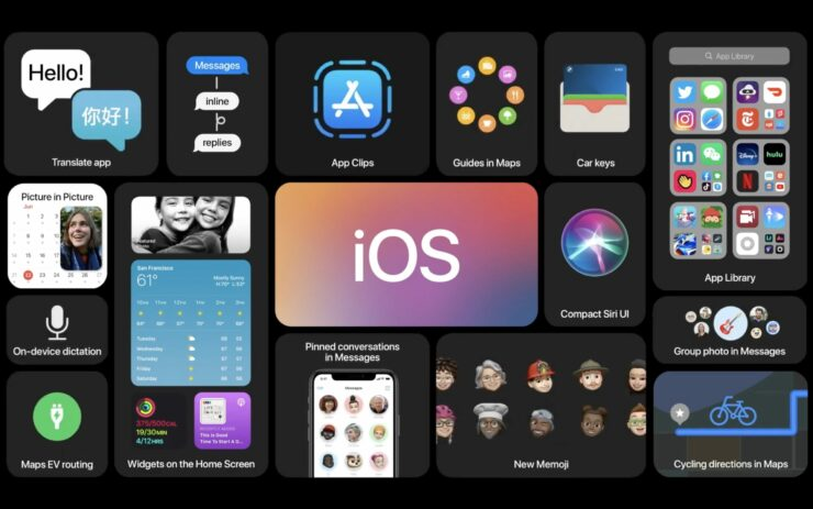 iOS 14 watchOS 7 tvOS 14