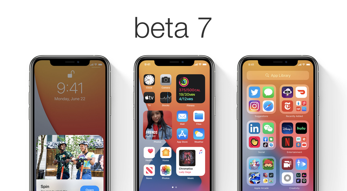 iOS 14 beta 7 and iPadOS 14 beta 7 now available for download