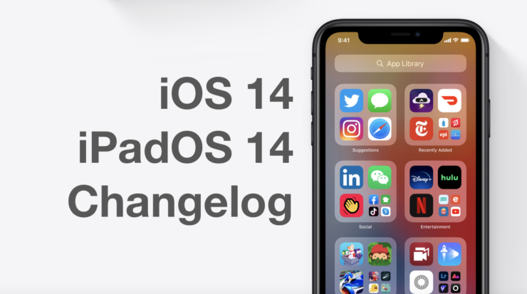 Here is the complete changelog of iOS 14 and iPadOS 14 final