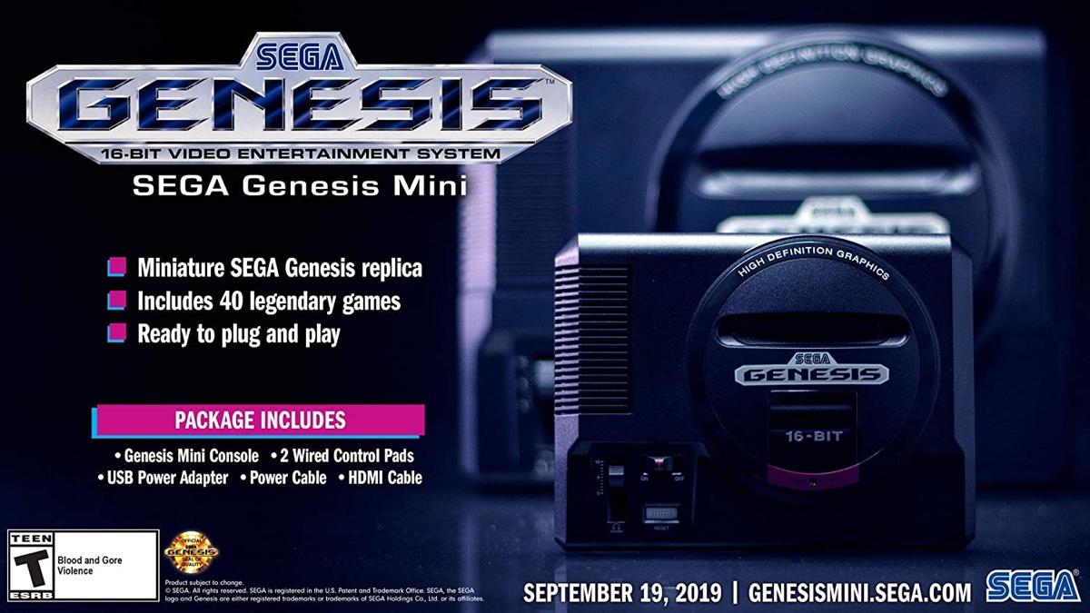 Pick up a brand new SEGA Genesis Mini for just $43