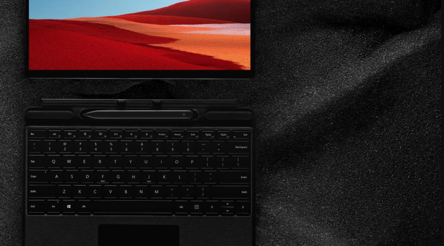 surface pro x firmware updates Windows 10 on ARM