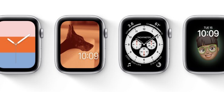 watchOS 7 new watch faces
