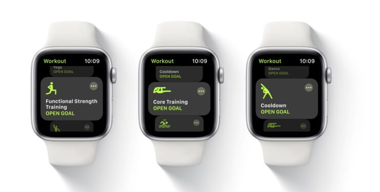 watchOS 7 workouts
