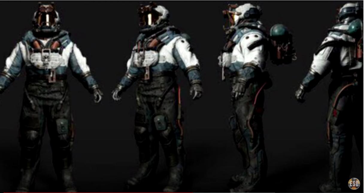 Se filtran varias imágenes de Starfield desde la build de 2018 2