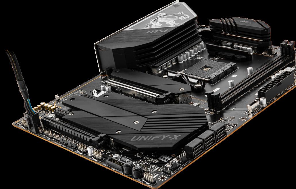 MSI MEG B550 Unify-X Motherboard For AMD Ryzen 5000 Desktop CPUs_1