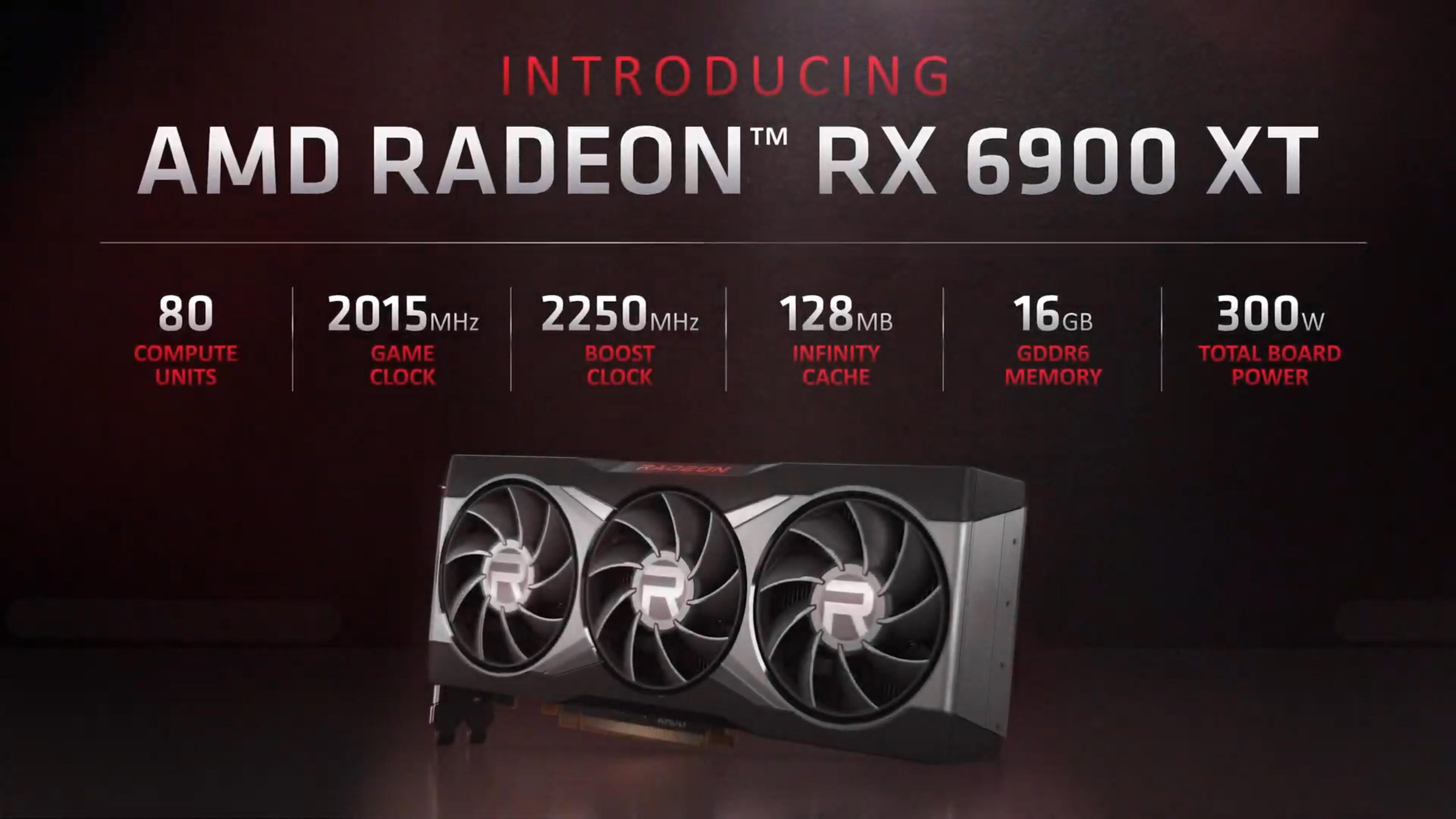 """AMD Radeon RX 6900 XT Placa de vídeo """"Big Navi"""" carro-chefe: lançada por US $ 999 - concorrente da GeForce RTX 3090 com apenas 300 W 3"""